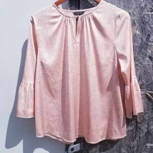 RW & CO Dotted Blouse